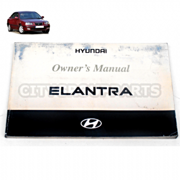 HYUNDAI ELANTRA SALOON MODELS 2001 T0 2004 OWNERS HANDBOOK MANUAL
